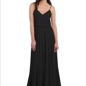 Jenny Yoo inesse Black formal/bridesmaid dress